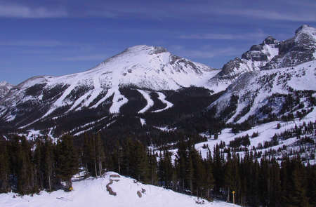 breezy: Sunshine Mountain Ski Resort - Banff, Alberta, Canada