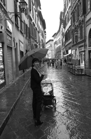 vacancier: Florence, Italie  Banque d'images
