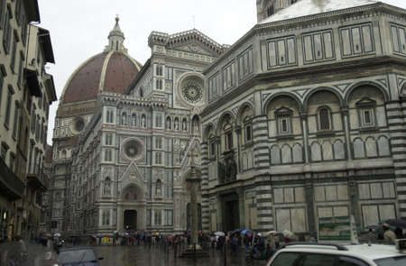 the duomo: Duomo Cathedral - Florence, Italy Stock Photo