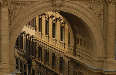 architectural detailing: Buildings of Florence, Italy
