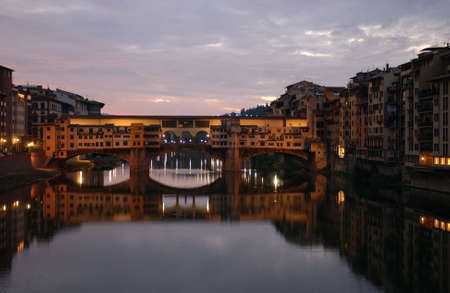florence italy: Ponte Vecchio - Florence, Italy