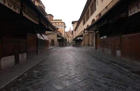 passageways: Ponte Vecchio - Florence, Italy