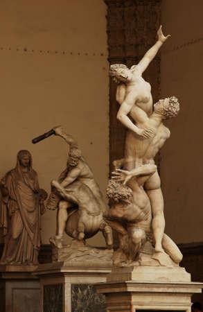 clash: Estatuas de Florencia, Italia