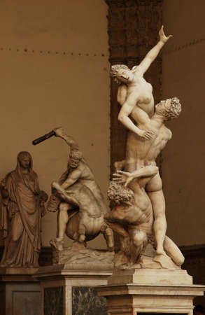 Statues of Florence, Italy Stock Photo - 180701