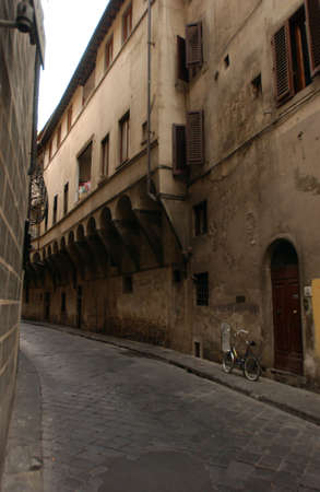 Street of  Florence Italy photo