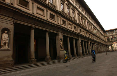 florence italy: Uffizi Gallery in Florence Italy