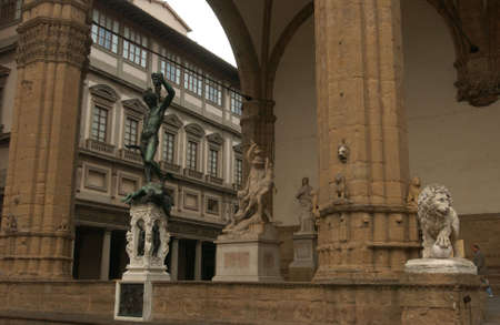staging: Uffizi Gallery in Florence Italy