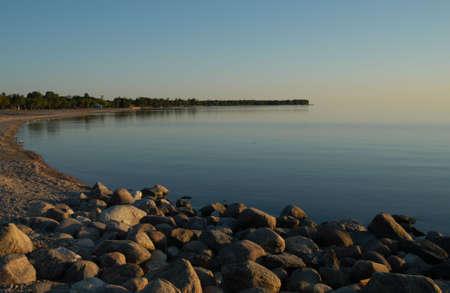 sunrises: Gimli Manitoba