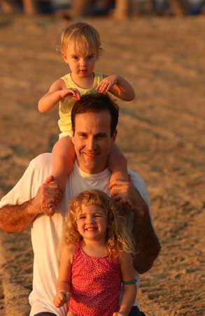 leasure: Famiglia sulla Spiaggia - Hawaii