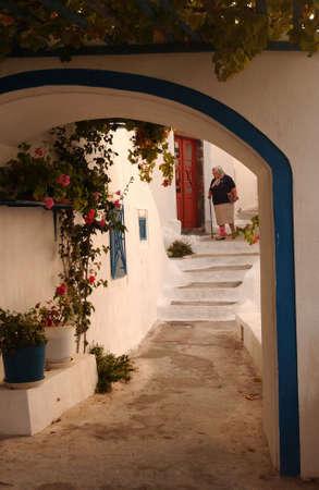 Greek Island of Santorini photo