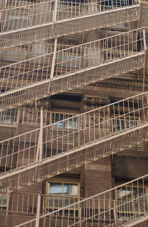 New York City - Fire Escapes Stock Photo - 181519