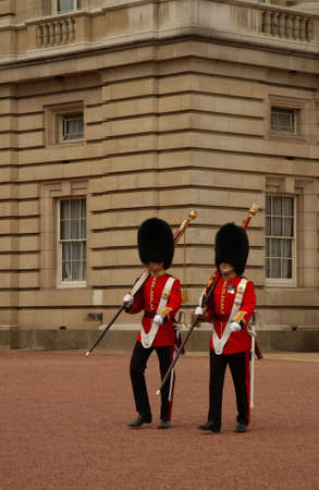 buckingham: Changing of the Guard at Buckingham Palace, London England