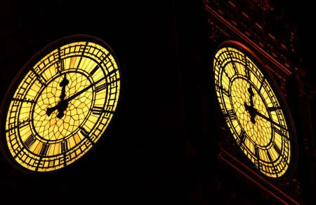 Big Ben -  Houses of Parliament, London England Stock Photo
