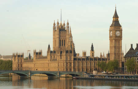 Big Ben -  Houses of Parliament, London England Stock Photo