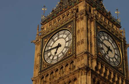 lasting: Big Ben -  Houses of Parliament, London England Stock Photo