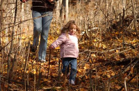 leisurely: family life at lake