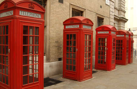 Phone Booth, London England photo