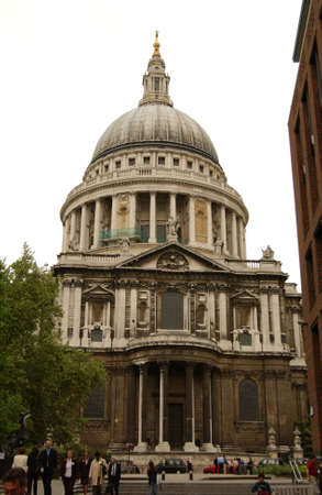 st: St. Pauls Cathedral - London, England