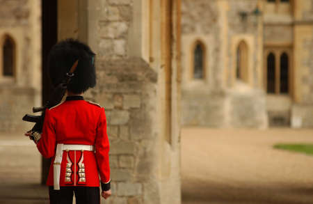 tourist attractions: Windsor and Windsor Castle - London, England Stock Photo