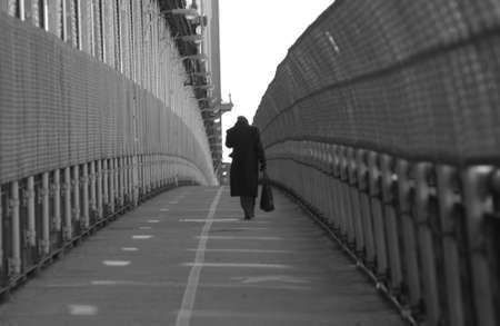New York City - view from Manhattan Bridge photo