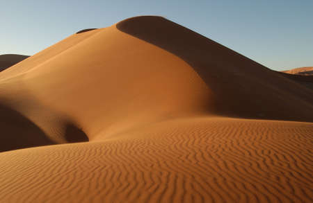 Sand Dunes of Sossusvlei - Namib desert, Namibia Stock Photo - 183333