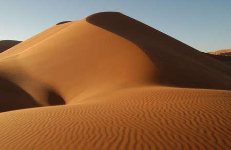 Sand Dunes of Sossusvlei - Namib desert, Namibia Stock Photo - 183333
