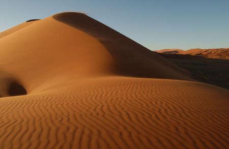 Sand Dunes of Sossusvlei - Namib desert, Namibia photo
