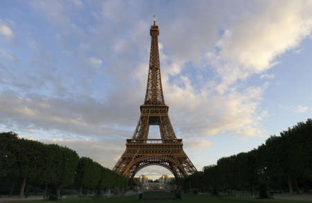 View of Eiffel, Tower - Paris, France