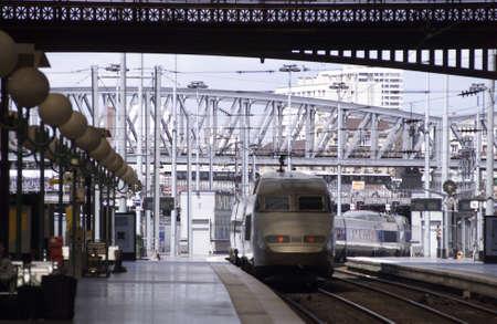du ร    ก ร: Gare du Nord - Paris, France Stock Photo