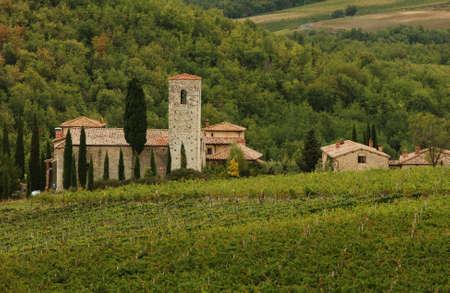 Castello di Spaltenna, Tuscany, Italy photo
