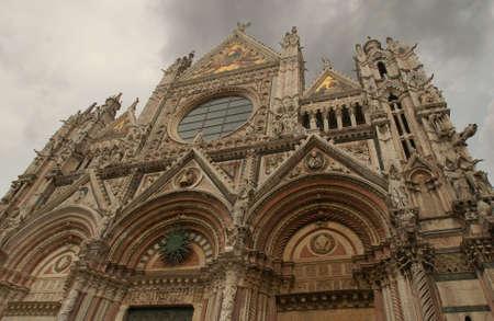 cherubs: Siena, Italy - Tuscany Stock Photo