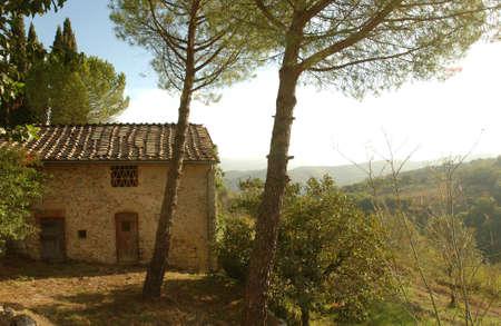 Villa - Tuscany, Italy Stock Photo - 184865