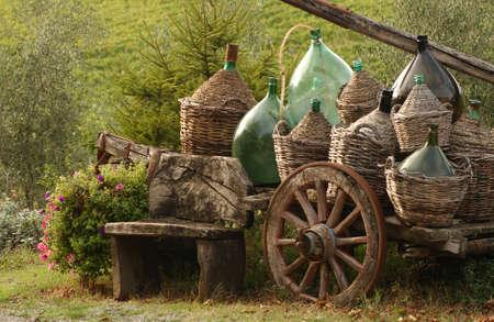 Vineyards - Tuscany, Italy Stock Photo