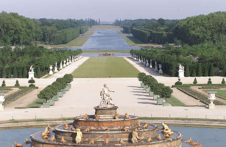 french way: Chateau de Versailles,  France