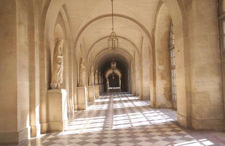 passageways: Chateau de Versailles,  France