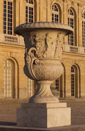 architectural detailing: Chateau de Versailles, France