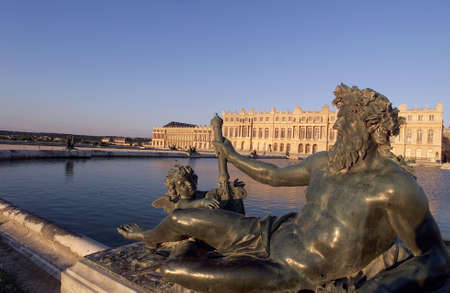 pilasters: Chateau de Versailles, France