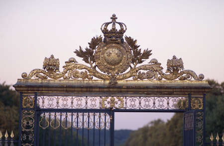 iron works: Chateau de Versailles, France