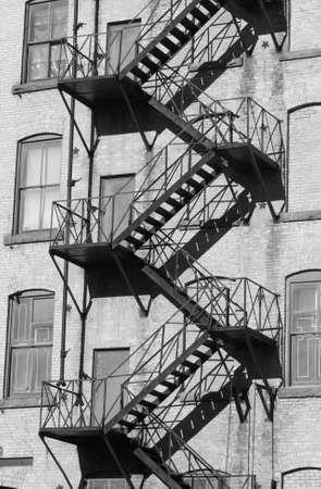 winnipeg: Black and White Photograph of Winnipeg classic architecture