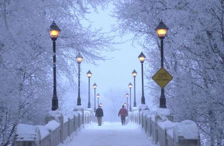 Winnipeg Manitoba, Canada Winter Scenes Stock Photo - 186154