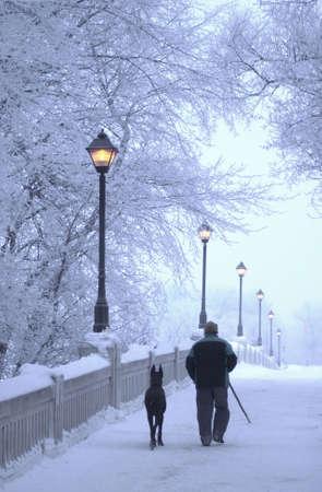 Winnipeg Manitoba, Canada Winter Scenes photo