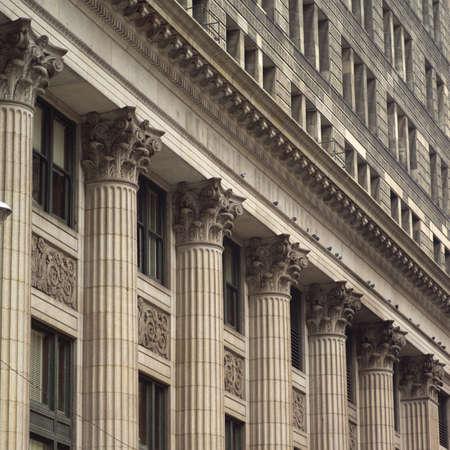 cna: Pilares de un edificio