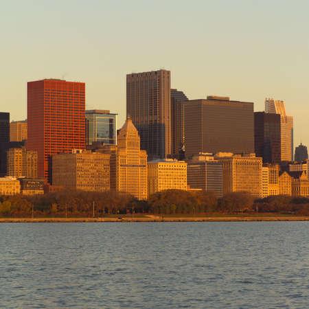 cna: Los rascacielos en Chicago