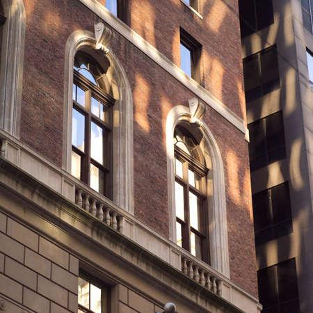 establishment states: Facade of a building