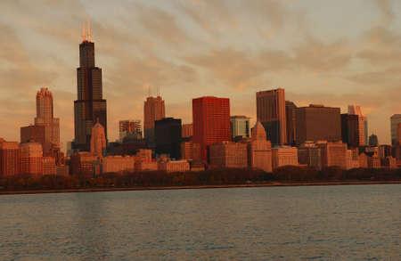 cna: Massime edifici a Chicago Archivio Fotografico