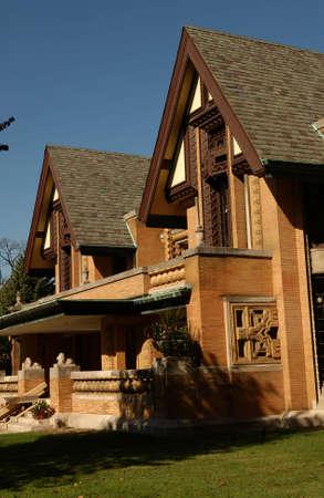 establishment states: A house in Oak Park in Chicago