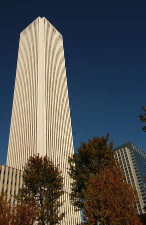 aon: Aon Center in Chicago Stock Photo