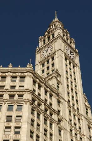 establishment states: Wrigley Building in Chicago