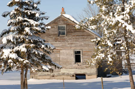 derelict: Derelict building in Alberta Canada
