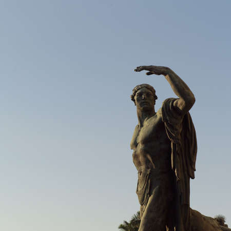 male likeness: Estatua de un hombre, La Habana, Cuba
